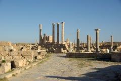 Roman Ruins In Sabratha, Libya Stock Photography