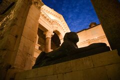Free Roman Ruins In The Old City Of Split, Croatia Royalty Free Stock Photography - 184080777