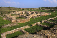 Roman ruins at Kabile, Bulgaria Royalty Free Stock Photo