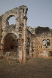 Roman ruins in Kizkalesi, Turkey Stock Images