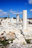 Roman ruins, Kourion, Cyprus Royalty Free Stock Images