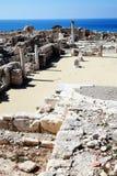 Roman ruins, Kourion, Cyprus Royalty Free Stock Photos