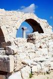 Roman ruins, Kourion, Cyprus Royalty Free Stock Photo