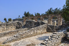 Roman ruins near Sirmione. Stock Photography