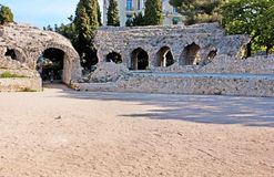 The roman ruins Royalty Free Stock Image