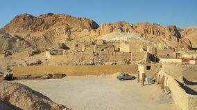 Shade of a great emire. Roman ruins from Northern Africa, Atlas Mountains Royalty Free Stock Images