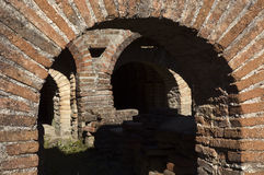 Roman Ruins of Pisoes Royalty Free Stock Photo