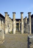 Roman ruins at Pompeii Royalty Free Stock Photo