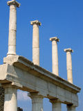 Roman ruins at pompeii Royalty Free Stock Image