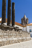 Roman ruins at Portugal. View of antiques ruins in Portugal Royalty Free Stock Photography