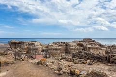 Roman ruins Royalty Free Stock Photography