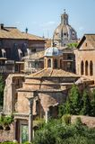 Roman ruins in Rome, Forum. Some of ancient roman ruins in Rome, Forum, other landmarks stock photos