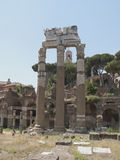 Roman ruins. In Rome Italy Stock Photo