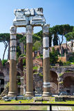 Roman ruins in Rome, Italy Stock Images