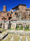 Roman ruins in Rome Stock Photos