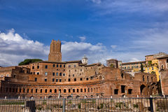 Roman ruins in Rome Italy Royalty Free Stock Photography