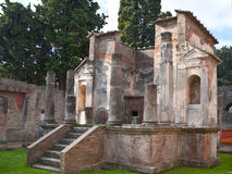 The roman ruins Stock Images