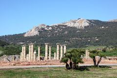 Roman ruins in southern Spain Royalty Free Stock Images