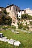 Roman ruins, Spello, Umbria Stock Image