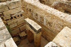 Roman ruins of Sufetula Stock Photo