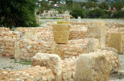 Roman ruins of Sufetula Royalty Free Stock Photography