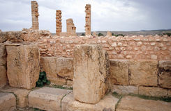 Roman ruins of Sufetula Royalty Free Stock Photos