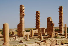 Roman Ruins, Sufetula, Sbeitla, Tunisia Royalty Free Stock Photography