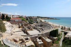 Roman ruins in Tarragona, Spain Royalty Free Stock Images