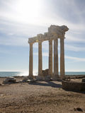 Temple of Apollo in Side Royalty Free Stock Photography