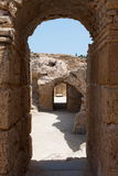 Roman Ruins- Tunisia Royalty Free Stock Photo