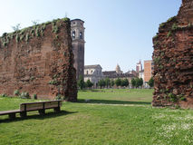 Roman ruins Turin Royalty Free Stock Photo