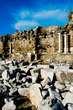 Roman Ruins in Turkey Stock Photo