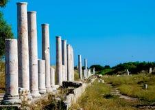 Roman Ruins in Turkey Royalty Free Stock Photos