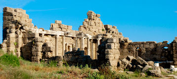 Roman Ruins in Turkey Royalty Free Stock Images