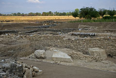 Roman ruins, Ulpiana, Kosovo Royalty Free Stock Photography