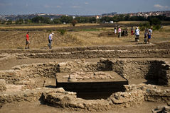 Roman ruins, Ulpiana, Kosovo Royalty Free Stock Images