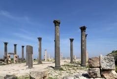 Roman ruins at Umm Qais (Umm Qays), Jordan Royalty Free Stock Photography