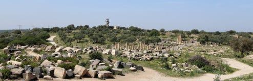 Roman ruins at Umm Qais (Umm Qays), Jordan Royalty Free Stock Photo