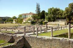 Roman Ruins in Vaison-La-lattuga romana Fotografia Stock