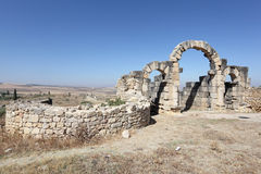 Roman ruins Volubilis, Morocco. North Africa Stock Photography