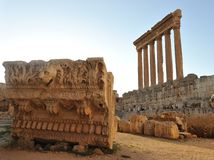 Roman ruïnes Royalty-vrije Stock Foto