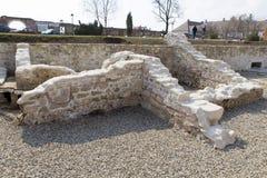 Roman ruïnes Stock Afbeeldingen