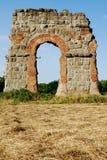 Roman's aqueduct Stock Images