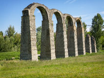 Roman 's aqueduct Royalty Free Stock Images
