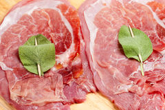 Roman saltimbocca Royalty Free Stock Photo