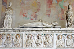 Roman Sarcophagus Royalty Free Stock Images