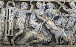 Roman Sarcophagus antique Images libres de droits