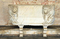 Roman Sarcophagus Royalty Free Stock Photography