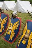 Roman schilden Royalty-vrije Stock Foto's
