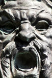 Roman sculpture. Close-up - cast-bronze Royalty Free Stock Photos
